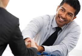 smilingmanshaking hand